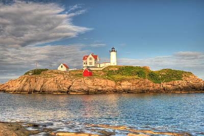 Lighthouse Photograph - Nubble Lighthouse by Donna Doherty