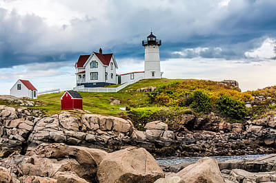Photograph - Nubble Lighthouse by Fred Larson