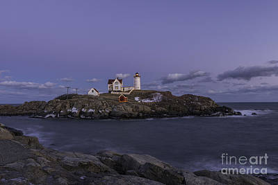 Photograph - Nubble Lighthouse by Sharon Seaward