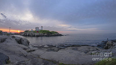 Photograph - Nubble Lighthouse by Steven Ralser