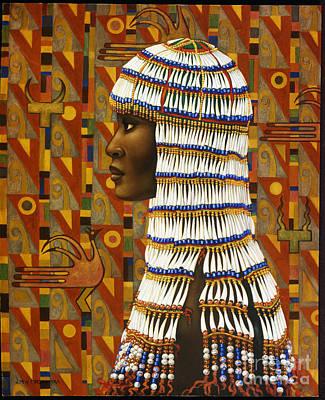 Nubian Princess Original by Jane Whiting Chrzanoska