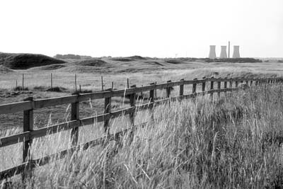 Backgrounds Photograph - Nuclear Power Plant by Chevy Fleet