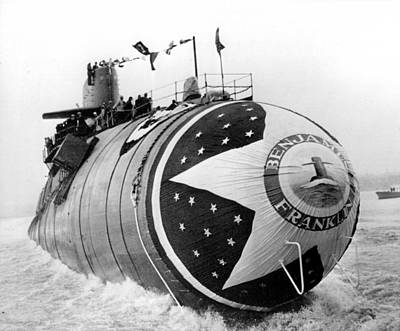 Nuclear Powered Submarine Art Print