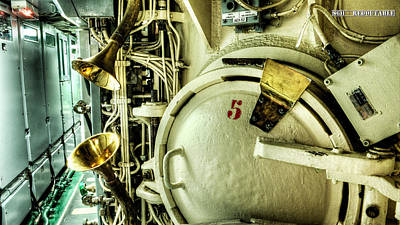 Redoutable Photograph - Nuclear Submarine Missile Chamber by Weston Westmoreland