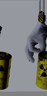 Nuclear Waste Disposal, Conceptual Image Art Print by Science Photo Library