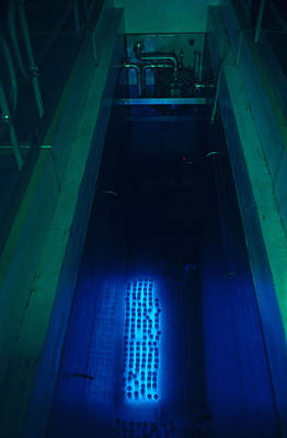 Toxic Waste Photograph - Nuclear Waste Storage Pool by Earl Roberge