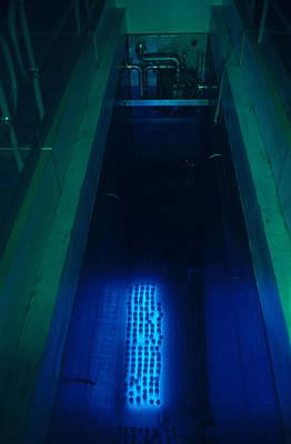 Nuclear Waste Storage Pool Art Print