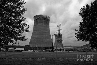 Gas Photograph - Nucleardynamicbw-30 by Pittsburgh Photo Company
