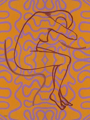 Nude 13 Art Print by Patrick J Murphy