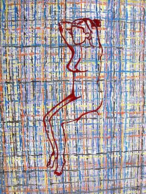 Nude 15 Print by Patrick J Murphy