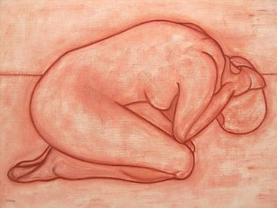 Nude 19 Art Print by Patrick J Murphy