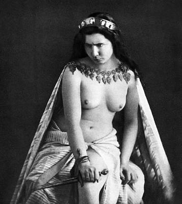 Photograph - Nude As Ancient Ruler by Granger
