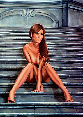 Erotica Painting - Nude City Beauty by Paul Meijering