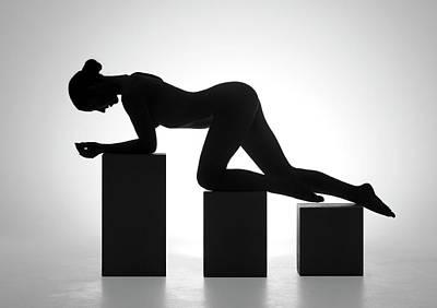 Bodyscape Art Photograph - Nude Contre Jour by Ross Oscar