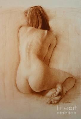 Nude Delicate Arch Art Print