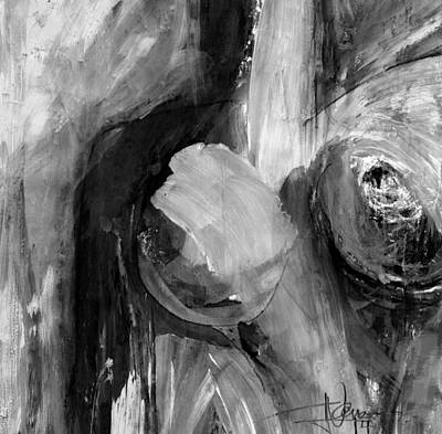 Nude E Art Print
