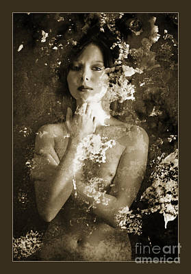 Girl Photograph - Nude In Ally  1153.01 by Kendree Miller