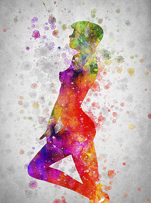 Sex Digital Art - Nude In Color 04 by Aged Pixel