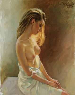 Nude Model Art Print