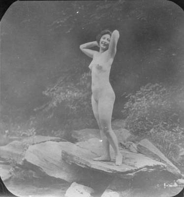 Photograph - Nude Outdoors, 19th Ct by Granger