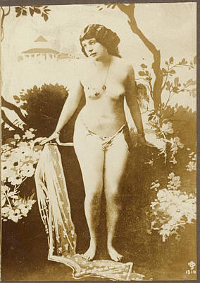Photograph - Nude Posing, 19th Century by Granger