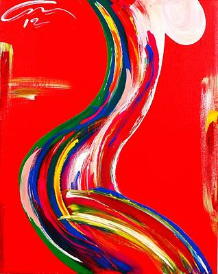 Nude Profile - Edition 4 Art Print by Mac Worthington