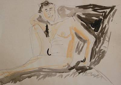 Painting - Nude So Cool by Esther Newman-Cohen