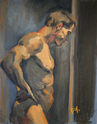 Painting - Nude Study  by Becky Kim