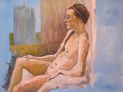 Nude Study Breonna Original by Ray Agius