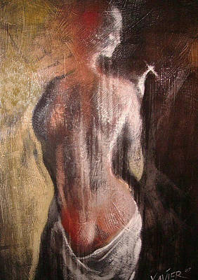 Cigar nude painting #6