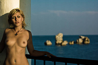 Naked Photograph - Nude Woman by Andrew Hunt