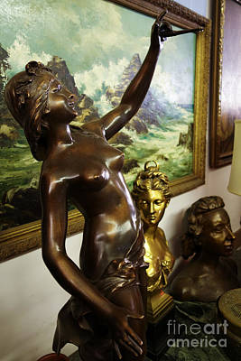 Nude Woman Bronze Sculpture Art Print by Amy Cicconi