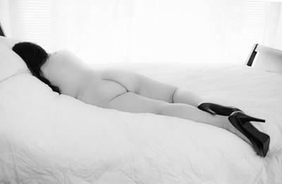 Submissive Photograph - Nude Woman In High Heels 2 by Skip Nall