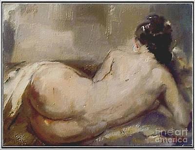 nude woman NW1 Art Print