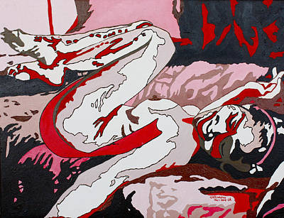 Painting - Nude2 by Carol Tsiatsios