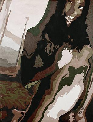 Painting - Nude4 by Carol Tsiatsios