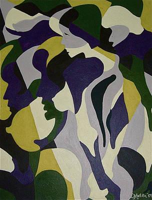 Painting - Nude9 by Carol Tsiatsios
