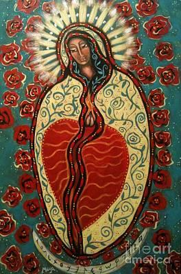 Painting - Nuestra Senora De Guadalupe by Maya Telford