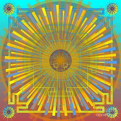 Digital Art - Nueva Estrella 2013 by Kathryn Strick