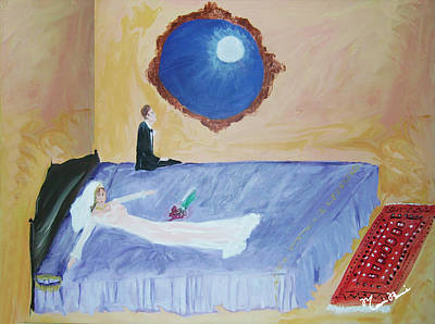 Painting - Nuit De Noces by Mounir Mounir