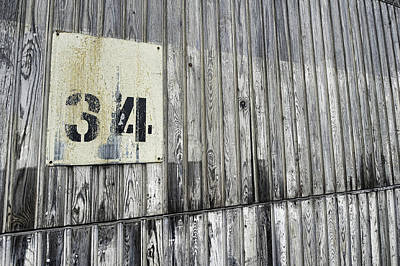 Number 34 Photograph - Number 34 by Thomas Graversen