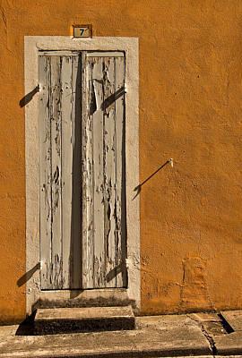 Rustic Doors Wall Art - Photograph - Number 7 by Nigel Jones