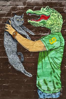 Nyc Subway Mosaic Photograph - Number 9 by Gary Keesler