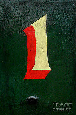 Photograph - Number One Red And Green by Valerie Reeves