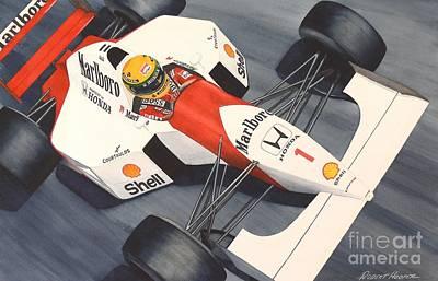 Number One Art Print by Robert Hooper