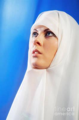 Hijab Fashion Photograph - Nun Praying by Aleksey Tugolukov