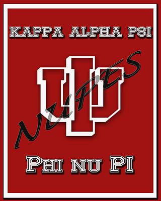 Kappa Alpha Psi Digital Art - Nupes by Rodney Wofford