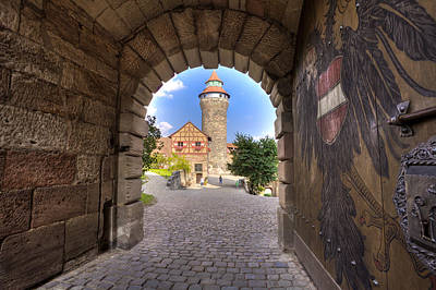 Photograph - Nuremberg Castle by Sean Allen