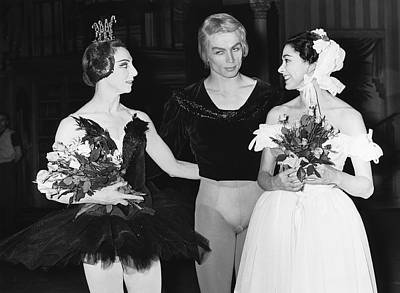 Photograph - Nureyev And Fonteyn by Underwood Archives
