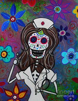 Painting - Nurse Ashley by Pristine Cartera Turkus